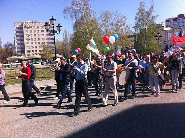 1 мая шествие Тольятти